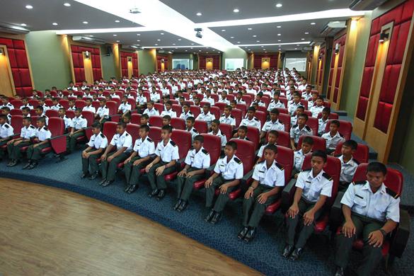 ห้องประชุมใหญ่ โรงเรียนดาวนายร้อย