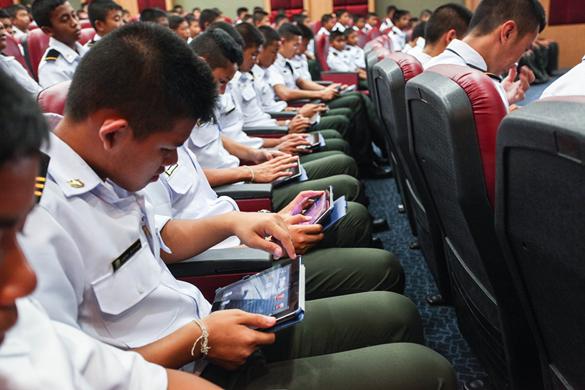 ห้องเรียน โรงเรียนดาวนายร้อย เตรียมทหาร กวดวิชาเตรียมทหาร