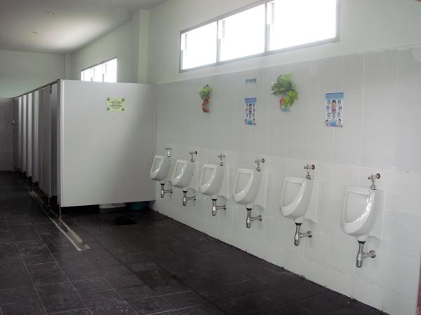 ห้องน้ำ โรงเรียนดาวนายร้อย เตรียมทหาร กวดวิชาเตรียมทหาร